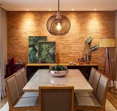 [New] The 10 Best Home Decor Today (with Pictures) Dinning Room Tables, Dining Table Design, Dining Room Walls, Room Interior, Home Interior Design, Esstisch Design, Dinner Room, Home Living Room, Sweet Home