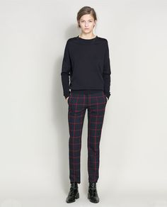 Image 1 of COTTON SILK JUMPER from Zara