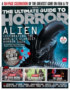 Cover SFX Magazine 249, January 2014. The ultimate guide to horror.