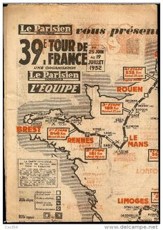 sells an item at a starting price of until Wednesday, 10 January 2018 at CET in the Programs category on Delcampe Cycling Art, Road Cycling, Le Mans, Velo Vintage, Bike Poster, Bicycle Race, Wheeling, Tours, Custom Map