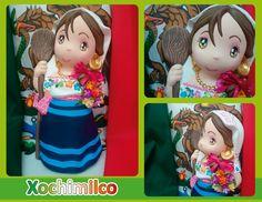 Traje típico de Xochimilco - Xochimilco regional costume
