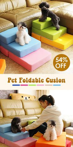 off】Folding Portable Dog Cat Pet Stairs Ramp Ladder Pet Stair B. - off】Folding Portable Dog Cat Pet Stairs Ramp Ladder Pet Stair Breathable Mesh Stai - Chihuahua, Yorkie, Dog Stairs, Dog Ramp, Pet Steps, Dog Steps For Bed, Dog Accessories, Dog Toys, Pet Care