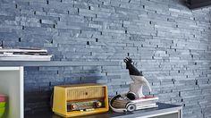 UltraNature | Antracite #natural #stone #veneer #Klimex #interior #home #design #wall #decoration #covering Website: www.wallsupply.com
