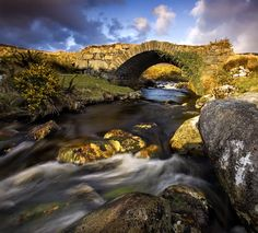 Photograph Under The Bridge by Gary McParland on 500px - Small footbridge that leads into The Poisoned Glen Near Dunlewy under the shadow of Errigal Mountain in Co Donegal, Ireland
