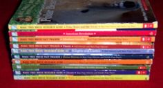 Magic Tree House Books~10 Fact Trackers & Research Guides~Mary Pope Osborne