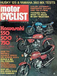 Kawasaki 350, 500 & 750