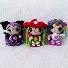 Amigurumi - Bonecas em Crochê - Crochet Dolls