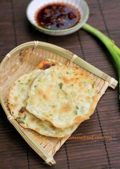 Fried Cakes with Spring Onion Recipe (Bánh Hành Chiên)