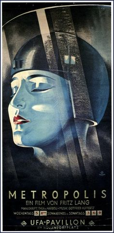 """""""Metropolis"""" - epochal masterpiece by Fritz Lang. The 2011 published . - """"Metropolis"""" – epochal masterpiece by Fritz Lang. The revised version published in 2011 co - Best Movie Posters, Classic Movie Posters, Movie Poster Art, Poster Wall, Fiction Movies, Sci Fi Movies, Science Fiction, Foreign Movies, Indie Movies"""