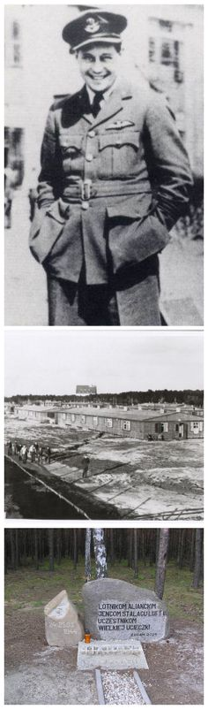 RAF Squadron Leader Roger Bushell led the real 'Great Escape' from Stalag Luft III, on 24 March 1944. His ambitious plan involved digging three tunnels simultaneously, to give at least one a greater chance for success. After tunnel 'Harry' was completed, 76 POWs managed to escape. Sadly, only three of them escaped Nazi occupied territory. The other 73 were recaptured, and in a reaction that is considered war crime, Hitler ordered 50 of them, including Bushell, to be executed without trial.