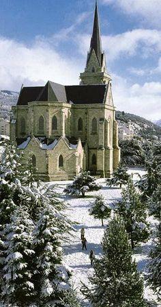 Catedral de San Carlos de Bariloche, Argentina     www.facebook.com/loveswish