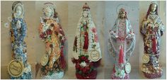 Santos Customizados em tecido encomendas no email divinachitabr@gmail.com   Preços sob consulta   peças expostas na ...