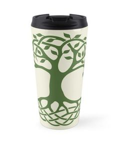 Celtic tree of life design is a traditional Irish design with celtic knots for branches and roots. this design was hand drawn and converted digitally. Enjoy! • Also buy this artwork on home decor, apparel, stickers, and more.
