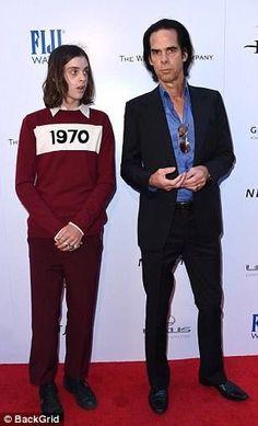 Wind River Premier at Ace Hotel, LA 7/26/17. Earl wearing a Bella Freud jumper.