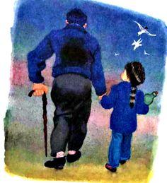 My Puzzles - Children - Vintage - Grandpa & Grandson