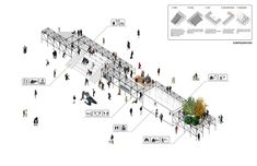 "Architecture Photography: ""Urban Platform"" Wins First in Lisbon Open Room Competition (611969)"