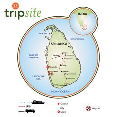 A bike tour in Sri Lanka is a kaleidoscope of images, experiences, and smells; tea plantations, cool highlands, ancient cities, and tropical beaches.