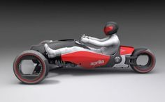 The frontal area of the Magnet is very low compared to a motorcycle or car, and...