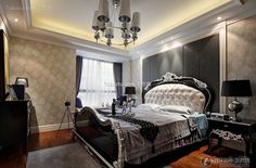 Effect picture of neo-classical style bedroom 2015