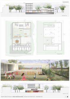 Kindergarten, Housing and Community Hall Complex (8)