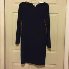 MK dress Worn once. navy blue not black Michael Kors Dresses Mini