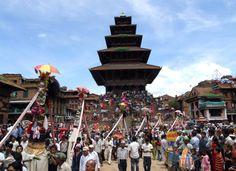Nepal Tourism Board    Gai Jatra(Cow Festival) at Bhaktapur. Photo/Bharat Bhandu Thapa