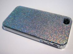 Cover-Case-iPhone-Real-GLITTER-Holographic-Sparkly-Iridescent-Luxury-Bling