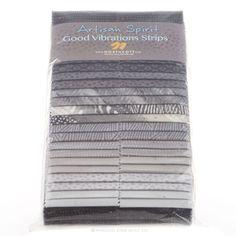"Leslie Artisan Spirit - Good Vibrations Evening Shadow 2.5"" Strips - Deborah Edwards - Northcott"