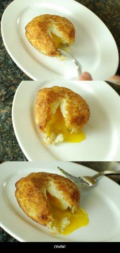Una Forma Distinta y Deliciosa De Comer Huevos