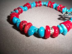 Bracelet Jewelry Genuine Turquoise Stone by NalisNativeNotions, $30.00