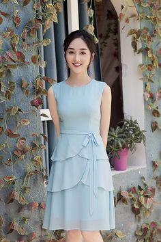 Lovely Dresses, Simple Dresses, Vintage Dresses, Casual Dresses, Short Dresses, Girls Dresses, Frock Patterns, Evening Dresses, Summer Dresses