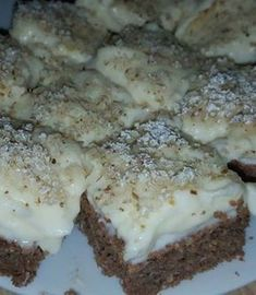Healthy Food Options, Healthy Desserts, Dessert Recipes, Healthy Recipes, Diet Cake, Hungarian Recipes, Chia Pudding, Winter Food, Clean Eating
