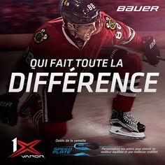 Patins Bauer Vapor 1X / Bauer Vapor 1X Skates #bauerfrance #bauerhockey