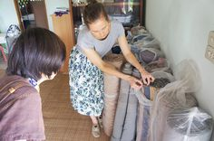 Sustainable hand woven fabrics from Thailand Slow Fashion