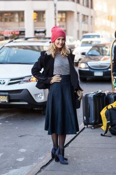 Midi skirt: http://www.stylemepretty.com/living/2015/02/19/our-favorite-nyfw-street-style/