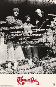 Cypress Hill Temple Of Boom 1996 Rare Vintage Poster Boom Music, Hip Hop Classics, Gangster Rap, Cypress Hill, Hip Hop Rap, Naruhina, Thug Life, Vintage Posters, Hiphop