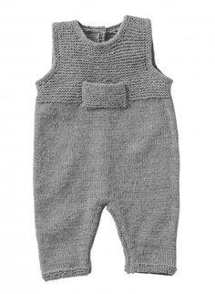 Kit salopette - 0 à 6 mois - Caline Avoine - avec aiguilles Kits, broderie & tricot Achat en ligne