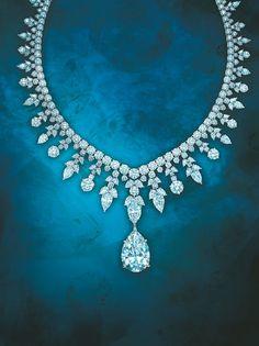 Tiffany Co. Majestic diamond necklace
