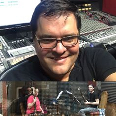 """Recording my bassoon duo """"Chocolate"""" with the talented Julie Feves and Jon Stehney at Rycy Productions, Inc. #latingrammy #art #classicalmusic #yalilguerra #bassoon #rycyproductions #recordings"""