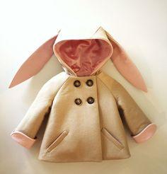 Bunny coat at Coaters - http://www.coaters.nl/a-28525769/producten-kinderjassen/kinderjas-konijn-bunny-coat/