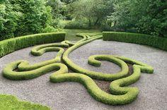 """A """"room"""" at Les Jardins de Sericourt, a garden inspired by war."""