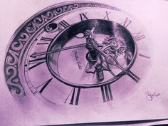 Tattoo sketch watches