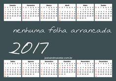 CALENDÁRIO 2017 NENHUMA FOLHA ARRANCADA 4
