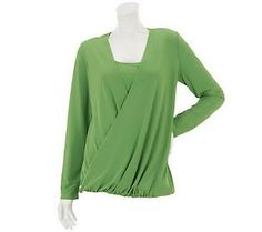 Attitudes by Renee Drape Front Top with Envelope Detail