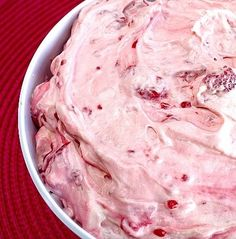 Recipe for Raspberry Vanilla Jello Salad - I just recently found this recipe and LOVE it! Literally takes 2 minutes to make and can be eaten immediately after preparing...and it's delicious too!