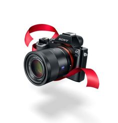 Impressive gift for the photography-lover: Sony a7 series, Full Frame, Mirrorless cameras.