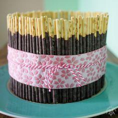 Hapa-tite   Matcha Pocky Cake with Yuzu Curd Filling   http://hapatite.com