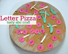 Letter Pizza Craft