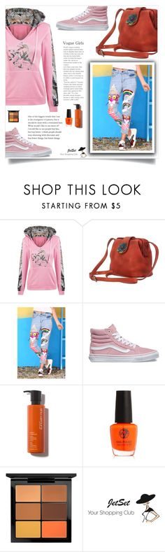 """""""JetSet shop!"""" by samra-bv ❤ liked on Polyvore featuring Vans, MAC Cosmetics, Carbotti, Fall, chic, bag and autumn"""