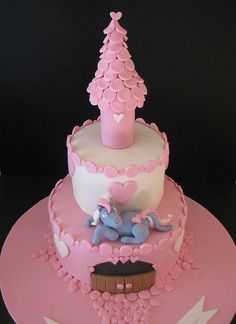 Pony Palace Cake by phillipascakes, via Flickr